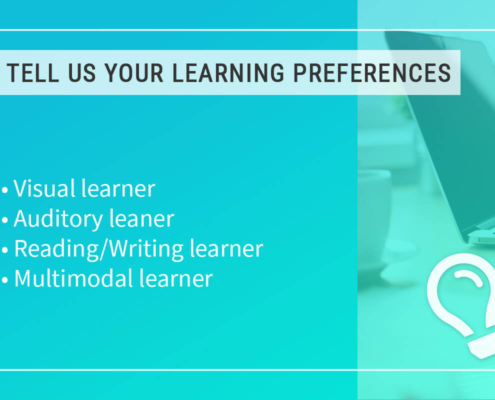 Image Learning Preferences - Step 2 - Courses Page