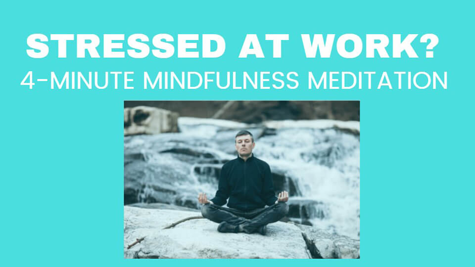 Image Stress Relief Meditation at Work
